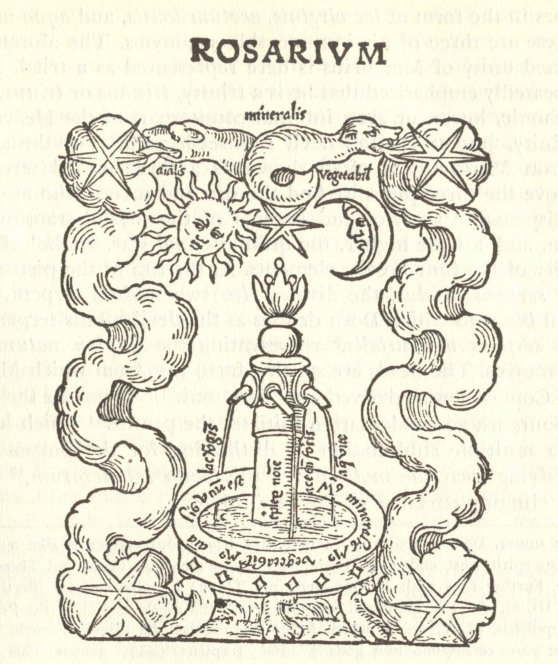 Rosarium Philosophorum - The Mercurial Fountain